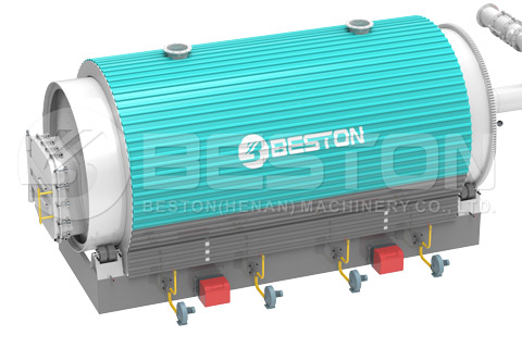 Beston Pyrolysis Tyre Plant