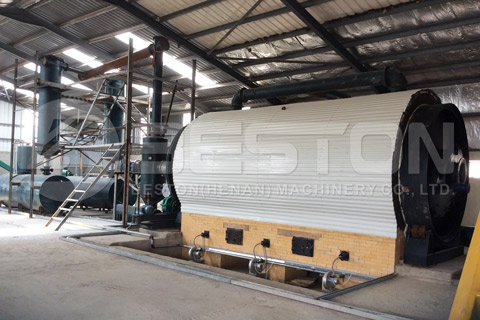 Beston Tyre Recycling Plants for Sale