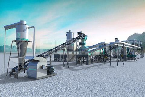 Biochar Production Equipment for Sale