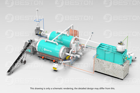 Beston Charcoal Manufacturing Equipment