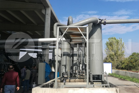 Charcoal Manufacturing Machine in Turkey