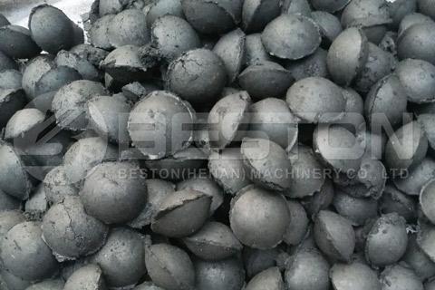 Charcoal ball