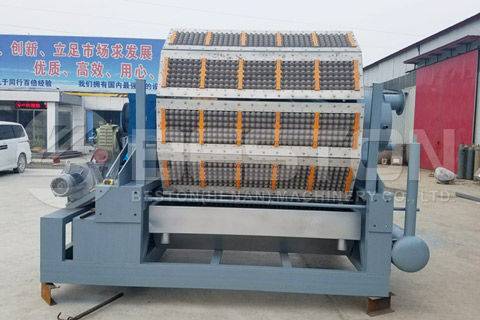 Egg Tray Forming Machine
