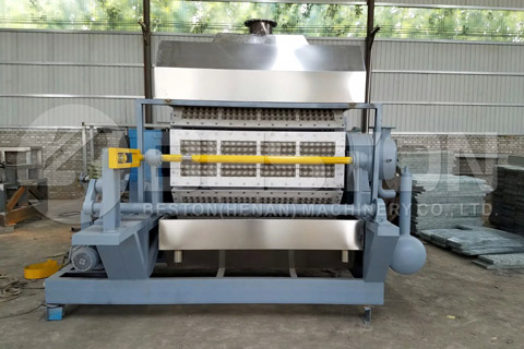 BTF-4-8 Beston Egg Tray Making Machine