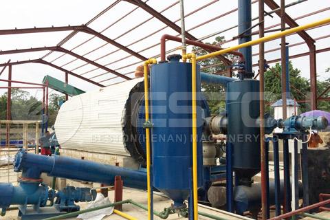 Tire Oil Plant