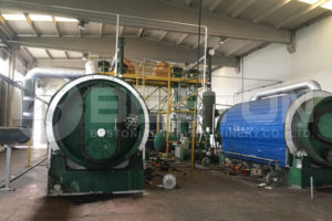 Tyre Pyrolysis Plant in Turkey