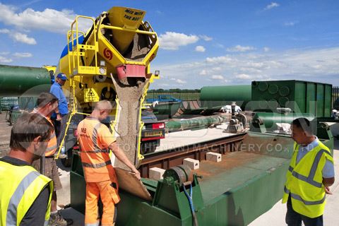 Waste Tyre Recycling Pyrolysis Plant Installed in England