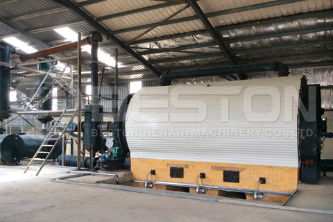 Waste Tyre Pyrolysis Plant Supplier