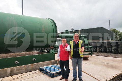 Pyrolysis Project Installed in England