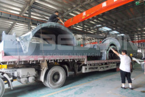Shipment of Pyrolysis Plant for Sale to South Africa