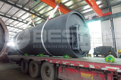 Shipment of Tyre Pyrolysis Plant to South Africa