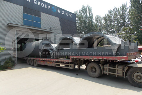 Tyre Pyrolysis Machine was Shipped to South Africa