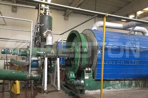 Cost of Waste Tyre Recycling Plant