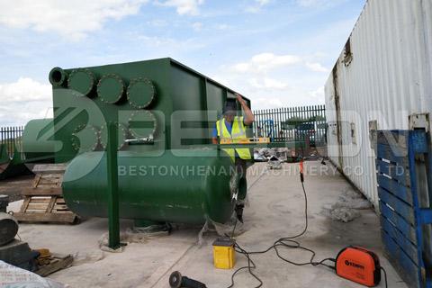 Shipment of BLJ-16 Pyrolysis Plant to UK - Beston Group in Turkey