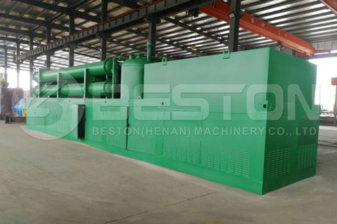Pyrolysis Plant was Shipped to Philippines