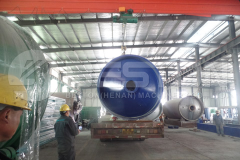 Shipment of Tyre Recycling Plant for Sale