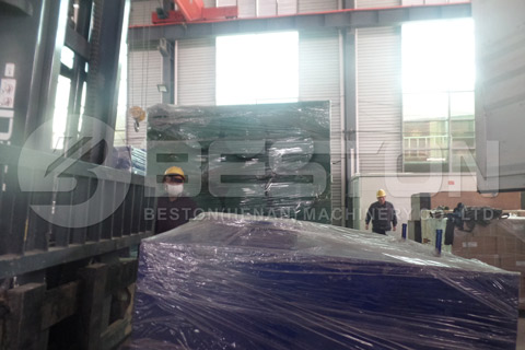 Shipment of Tyres Recycling Plant