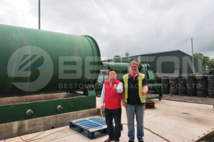 Beston Tire Recyclilng Plant in UK
