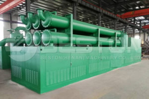 Tyre Recycling Machine with Cooling System