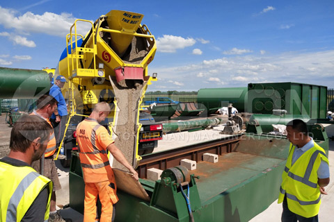 Beston Tyre Recycling Plant in UK