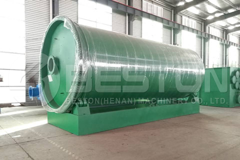Tyre Recycling Plant was Shipped to Philippines