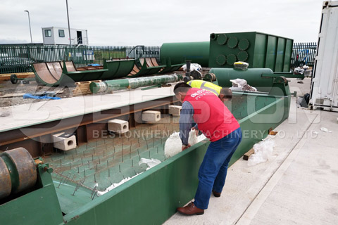 Waste Pyrolysis Equipment in UK
