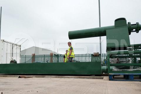 Waste Pyrolysis Machine in UK