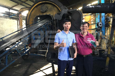 tire recycling equipment cost