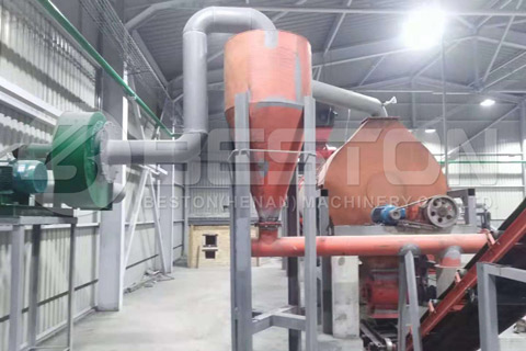 wood charcoal manufacturing machine
