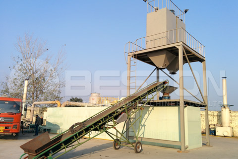 Continuous Pyrolysis Plant for Sale