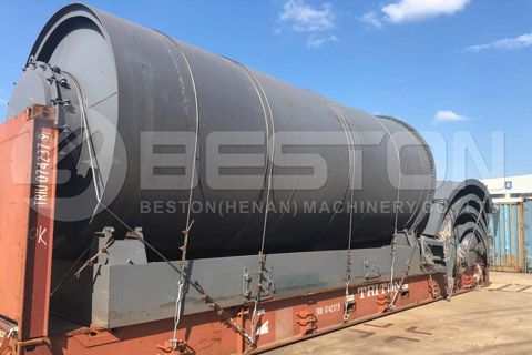 Continuous Tire Pyrolysis Equipment