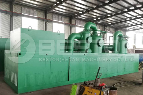 Continuous Waste Tire Pyrolysis Plant