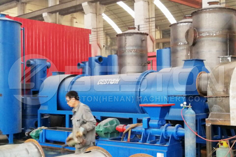 Coconut Charcoal Making Machine for Sale
