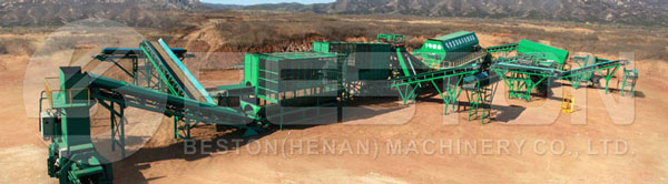 Automated Waste Sorting Machine