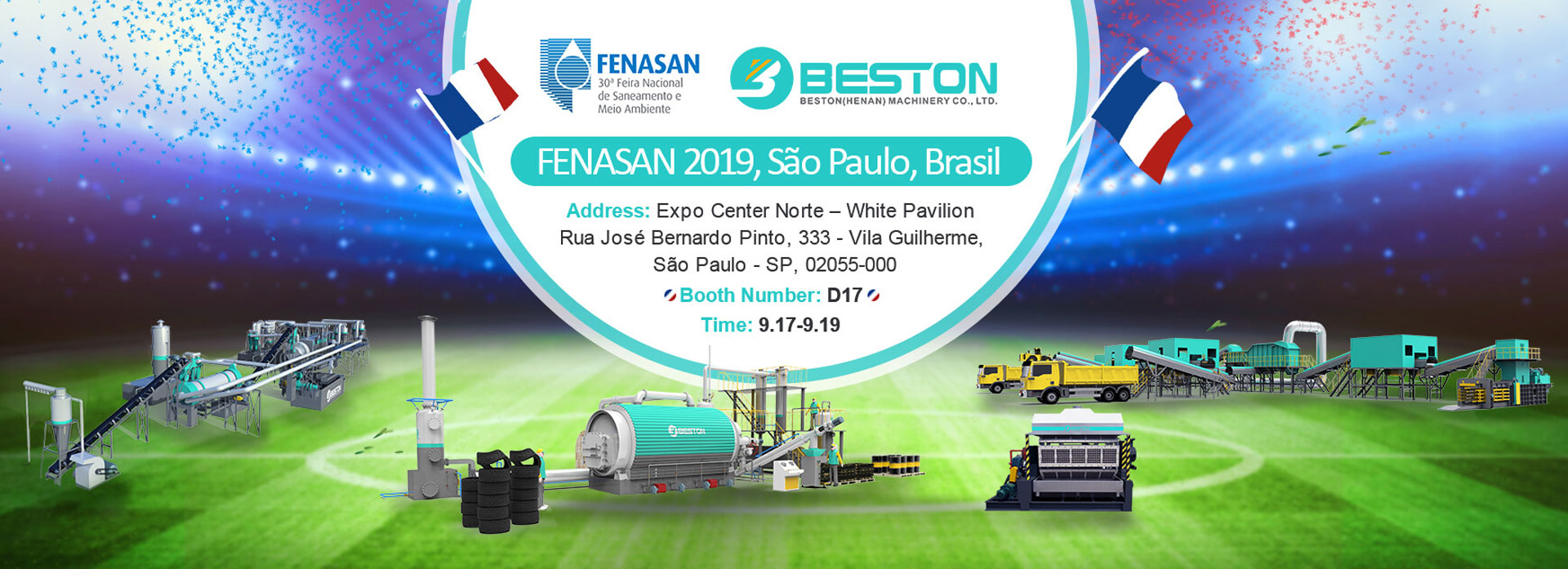 Join FENASAN with Beston Banner