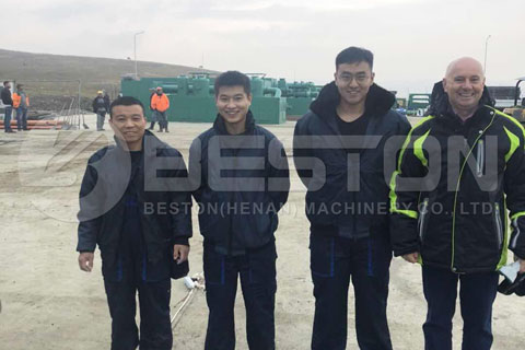 Romanian Customer was Satisfied with Beston Machine