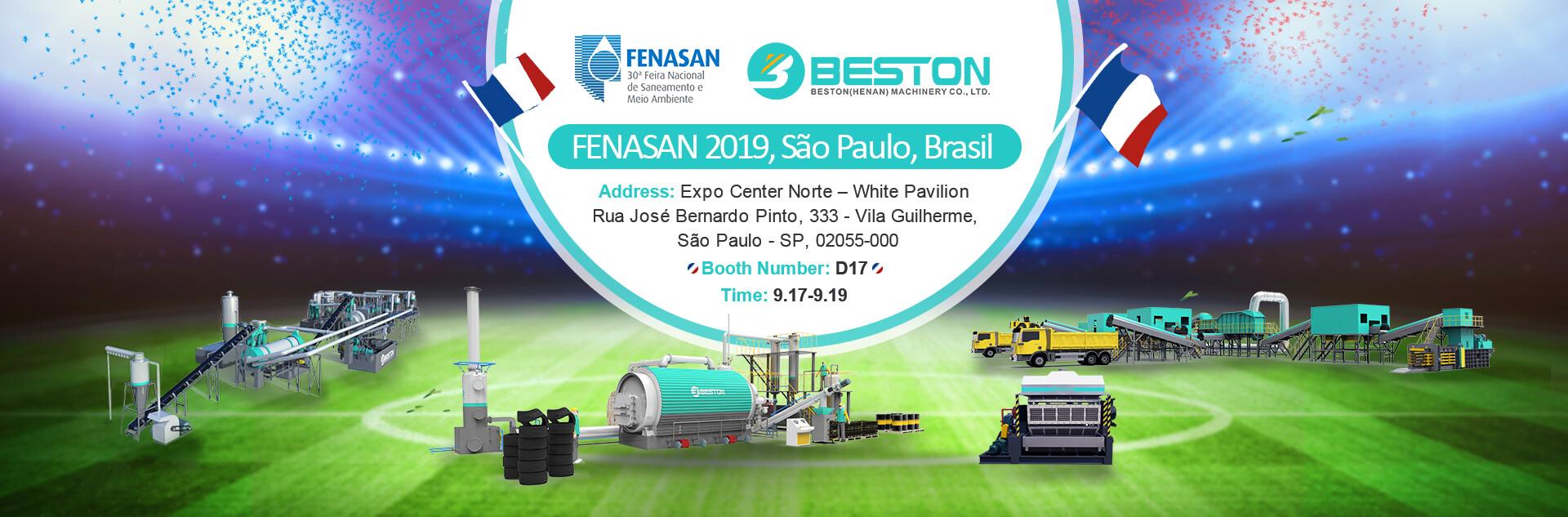 See Beston in FENASAN