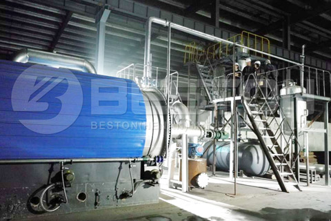 Tire Pyrolysis Plant Project