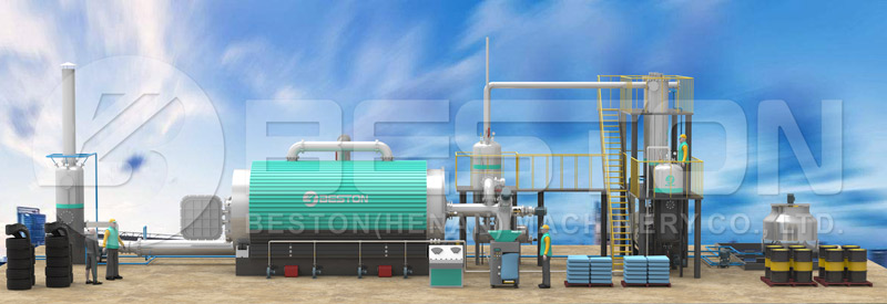 Waste Tire Recycling Plant Price