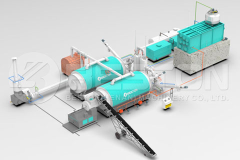 Waste Tyre Recycling Machine Price