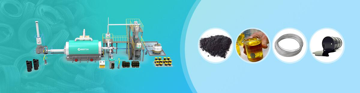 Waste Tyre Pyrolysis Plant | Tire Pyrolysis Machine
