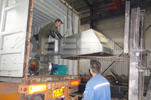 Palm Kernel Shell Charcoal Making Equipment