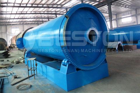 Plastic Pyrolysis Machinery