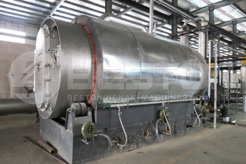 Rubber Pyrolysis Equipment for Sale