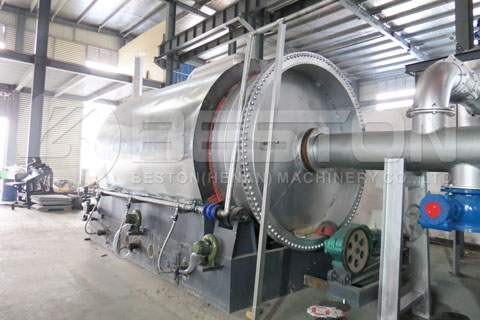Rubber Pyrolysis Machine for Sale