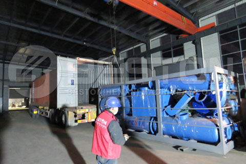 Waste Plastic Pyrolysis Equipment