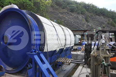 Waste Rubber Pyrolysis Equipment