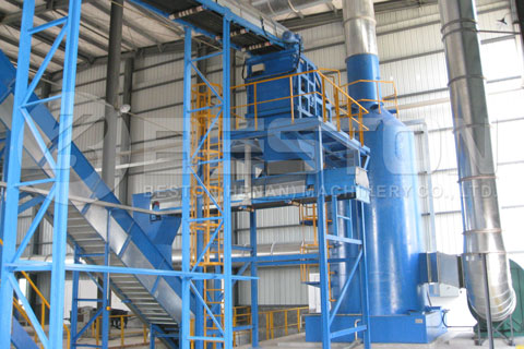 Deodorizing Equipment in Waste Recycling Plants
