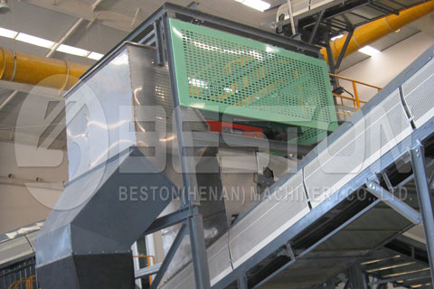 Magnetic Separator in Waste Recycling Plants