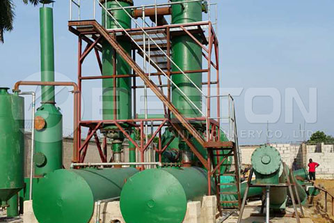 Oil Sludge Pyrolysis Machine